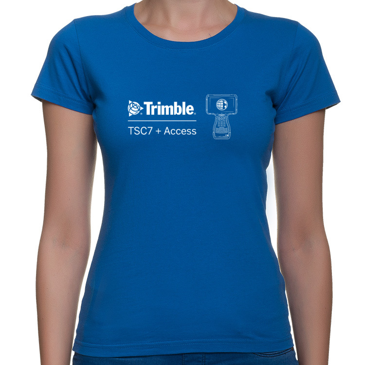 T-shirt damski - Trimble TSC7